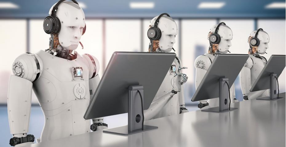 O Dia em que os robôs dominaram a central de atendimento