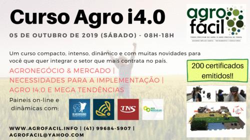 Curso Agro i4.0 Sensacional!!!